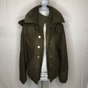 Urban Outfitters BDG Green Coat